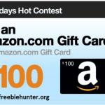 Amazon $100 Gift Card!