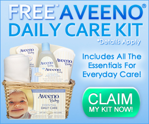 Aveeno Baby Care Kit Sample!