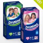 DryNites Baby Pajama Pants Samples