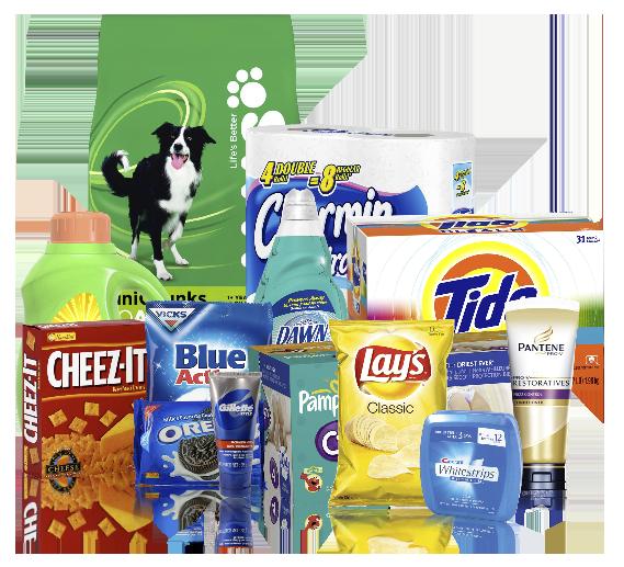 Tide Grocery & Household Samples