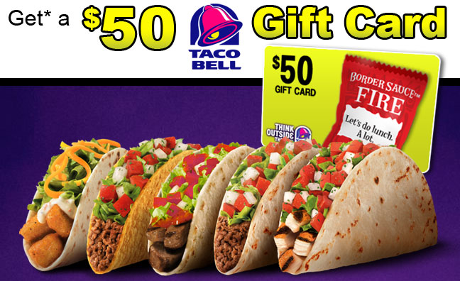 $100 Taco Bell Giftcard Giveaway – American Prize Center