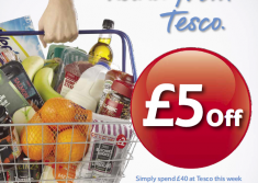 Free £5 Tesco Gift Card & £500 Gift Card Entry!