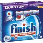 Finish Dishwater Detergent Samples
