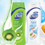 Dial Vitamin Boost B & FroYo Body Wash Samples
