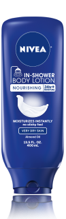 Nivea In-Shower Body Lotion Sample Sachet