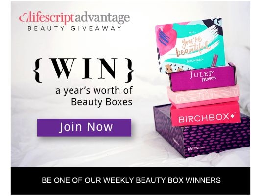 Beauty Box Giveaway by Lifescript