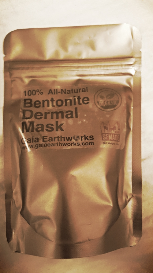 Gaia Earthworks Dermal Mask Sample